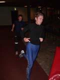 Stig Alvestad l�per p� banen i Leangen-hallen i november 2005