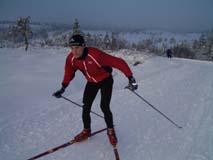 Audun Weltzien p� ski
