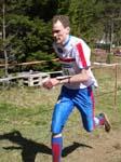 Audun Weltzien mot m�l til seier p� langdistansen