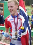 Anders Nordberg ble den store profilen med 3 gull