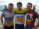 Me, BJ, and Mats Haldin after the race