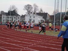 100 m after the start