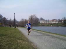 Me running along Nidelven