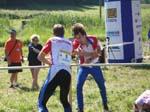 Martin Soukup changing over to Stig Alvestad