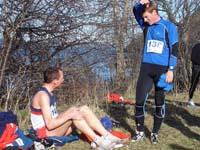 Me and Henrik Gr�set after the race (Photo: Malvik IL)