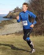 Me from the Cross country race (Photo: Malvik IL)