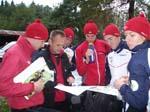 Parts of The Norwegian Team