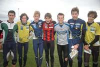 The 8 best runners, except Mathias Bjugan. Photo: Fritjof Sandstad