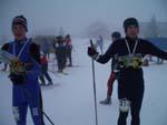 Wings Lars Moholdt og Erik Helgemo før start på stafetten
