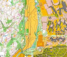 Kart fra NM-sprint kval