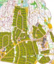Kart fra NM-sprint finale