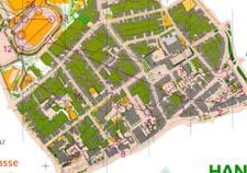 Kart fra stafetten