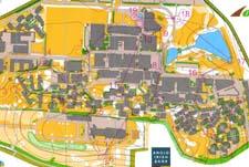 Kart fra sprint-kvalifiseringen