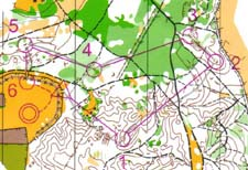 Map from last the part of relay at the WC 2005