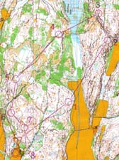 Map from Blodslitet, loop 1