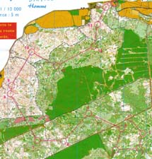 Map from Middle-distance in Clermont-Ferrand