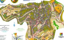 Map from sprint at Portugal O-Meeting