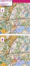 Map Trondheim Open Sunday