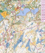 Map KM Middle at Trondheim Open