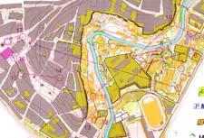 Map WOC Sprint Final, Olomouc