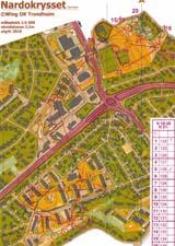 Trondheim Open, Sprint