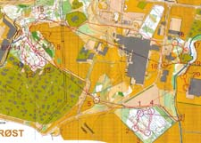 Map Trondheim Sprintcup 2