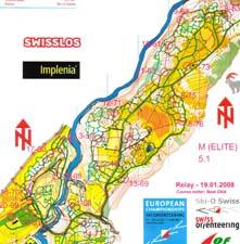 Ski-o maps 2007/2008