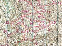 Maps from WOC training in France
