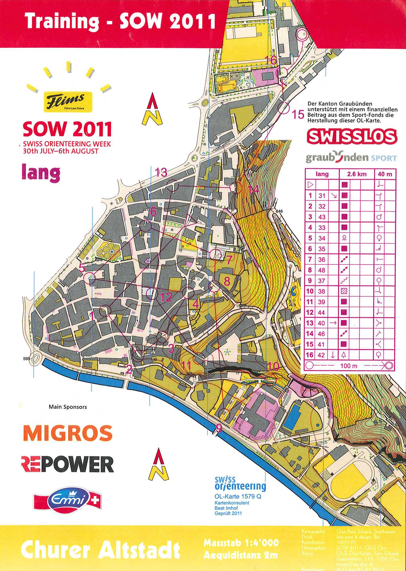 My digital orienteering map archive Sprint training 25012015