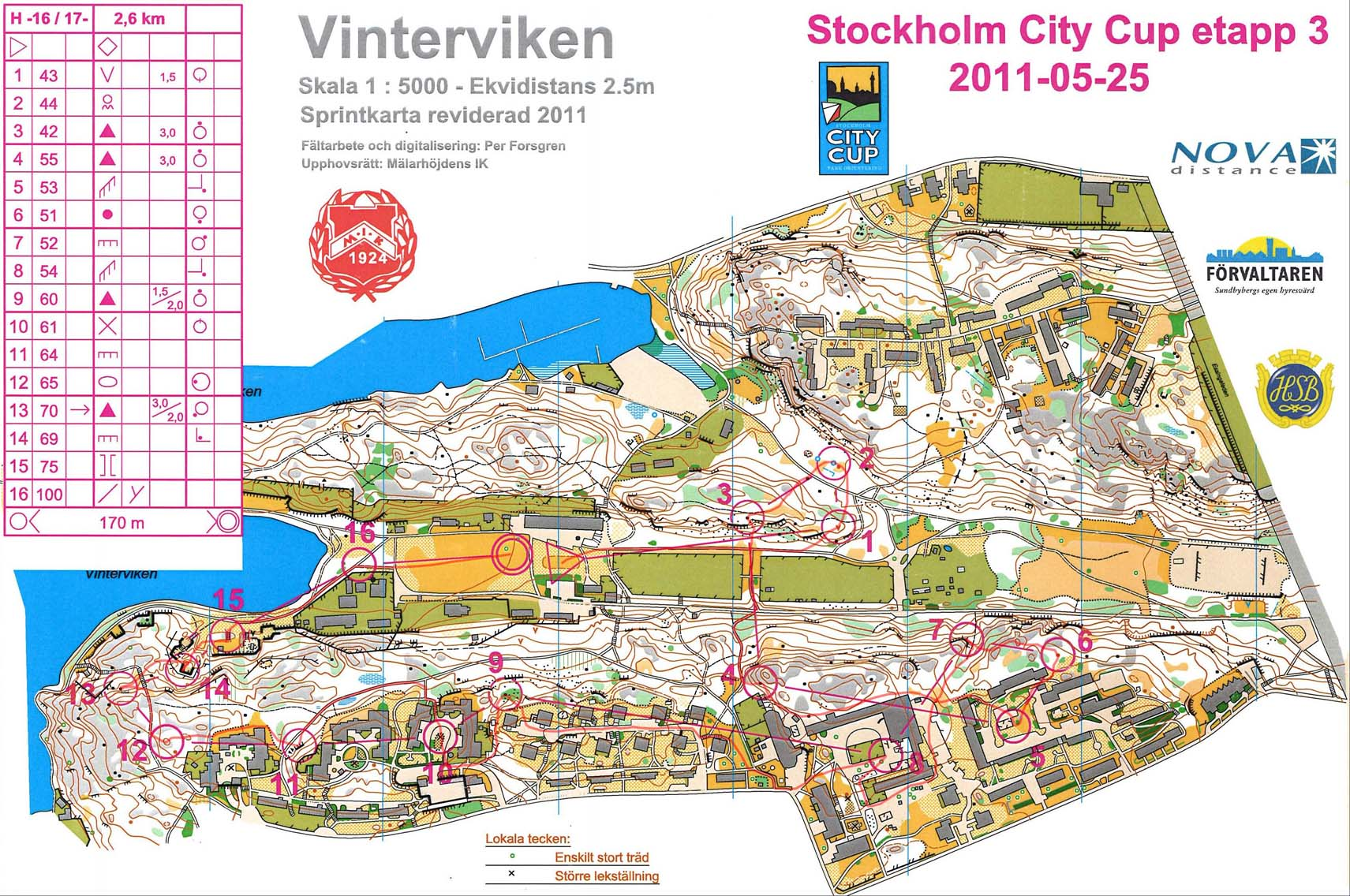 Stockholm City Cup 3 (25/05/2011)