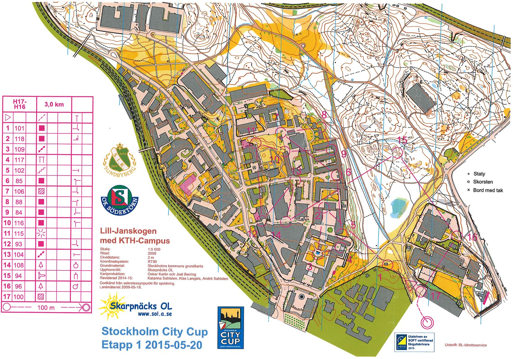 Stockholm City Cup 1 (20.05.2015)