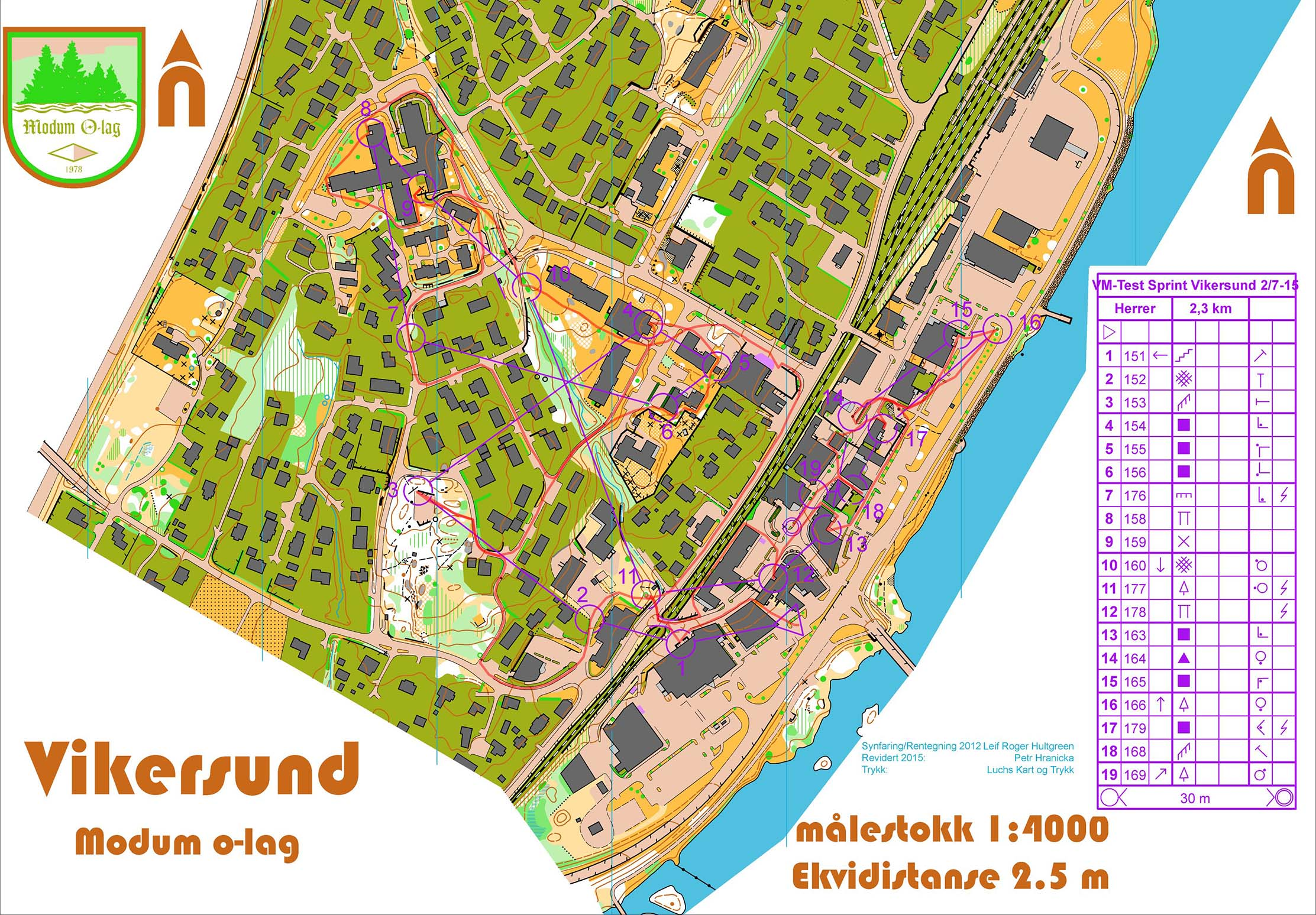 WOC selection Sprint (02-07-2015)