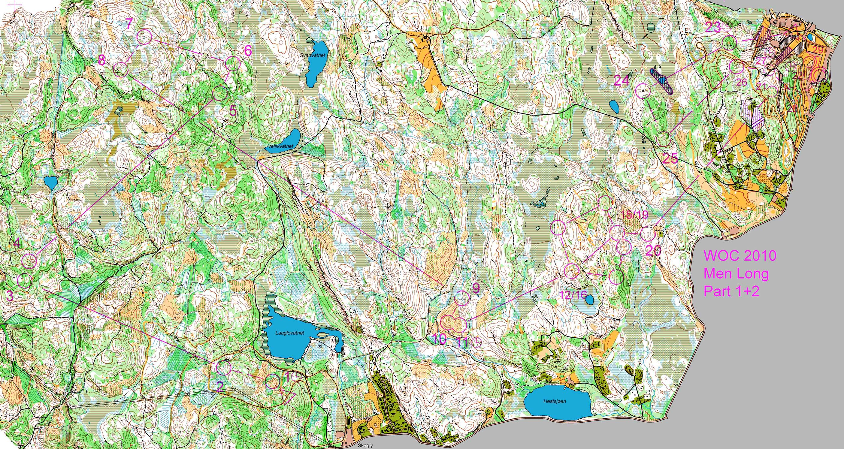 Training (WOC 2010 Long) (16/07/2017)