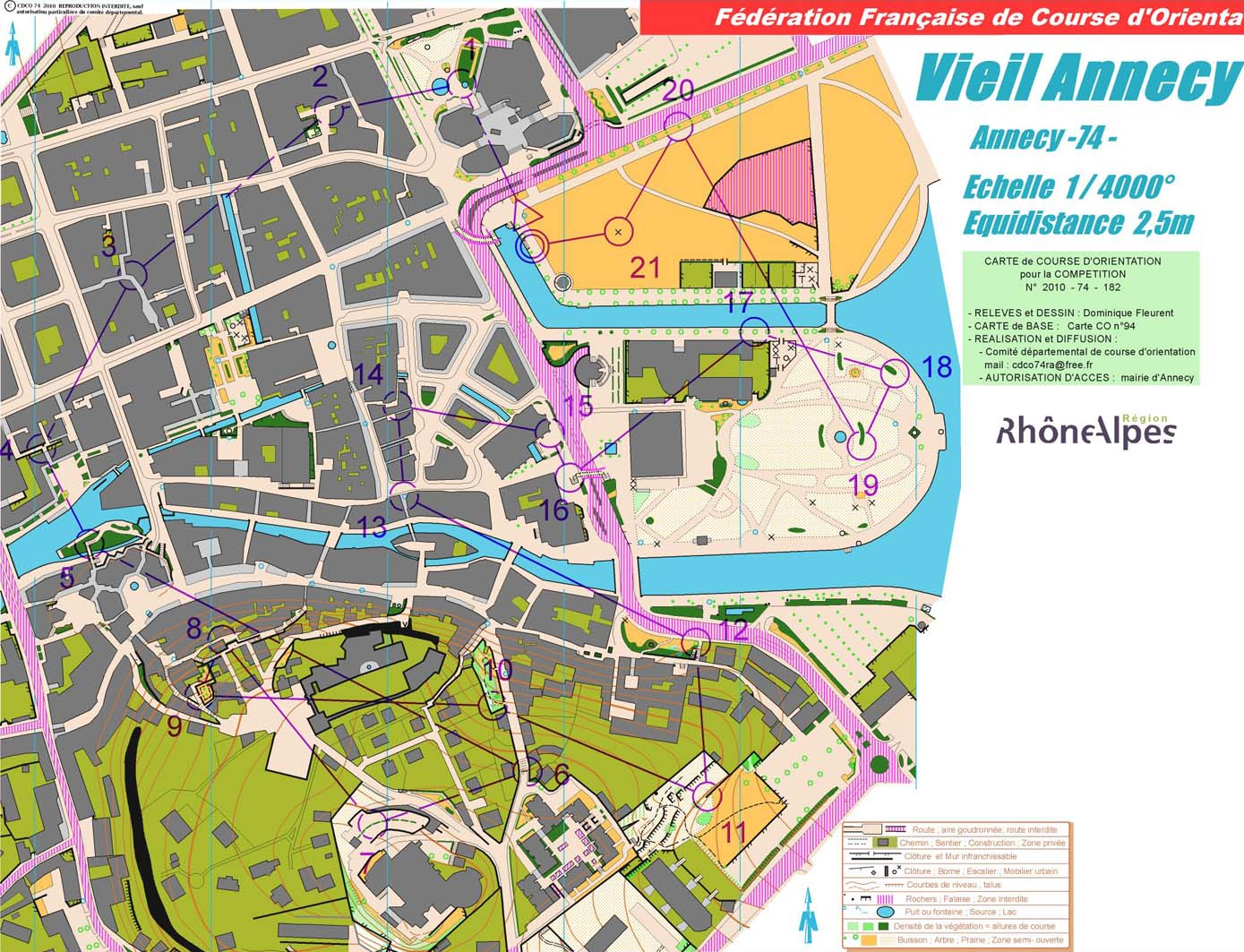 WOC 2011 training Sprint Qual (05-07-2011)