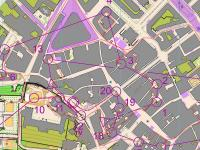 Map from WOC Sprint Final